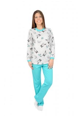 Дамска памучна пижама-Bunny