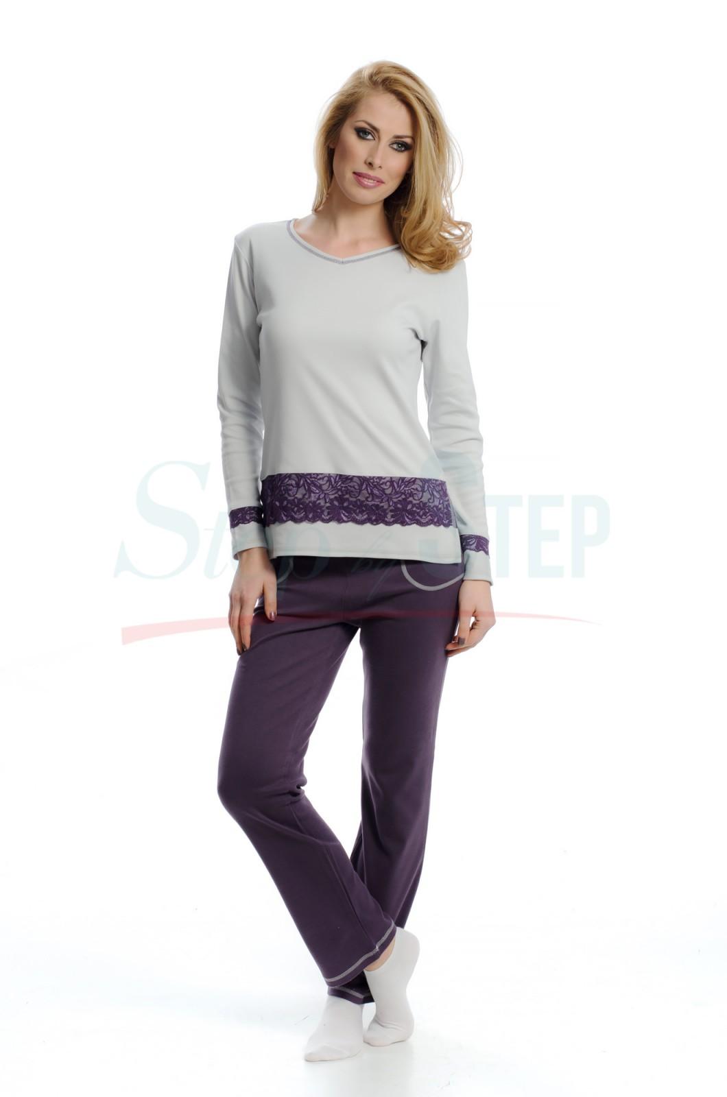 NEW Дамска памучна пижама Style - интерлог
