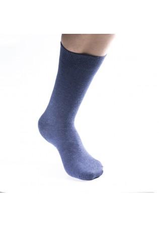 Мъжки памучни чорапи Дерби с еластан