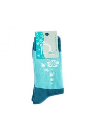 Дамски памучни чорапи термо