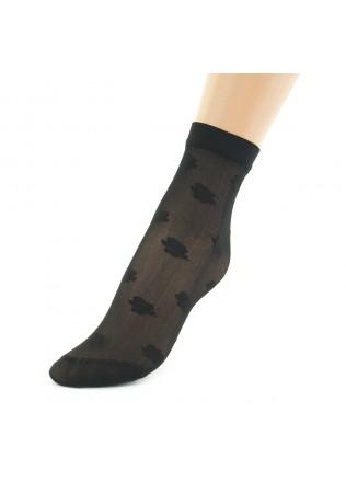 Дамски фигурални чорапи-къси
