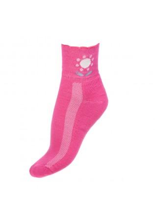 Дамски памучни чорапи с бамбук-полуплюш