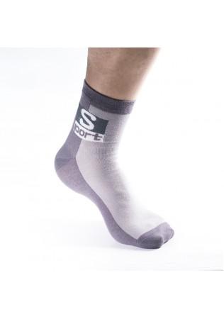 Мъжки памучни чорапи с къс конч