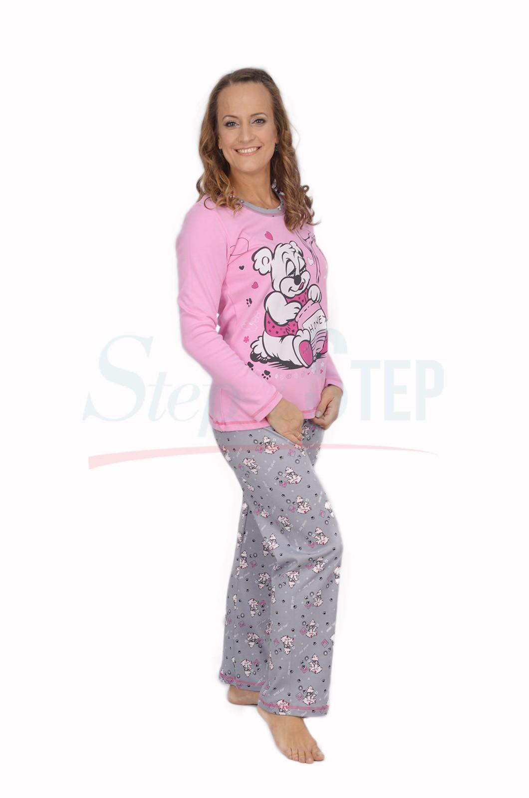 NEW Дамска памучна пижама Honey-интерлог