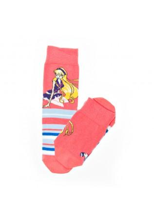 Детски памучни чорапи за момиче-картинка-размер 31-34